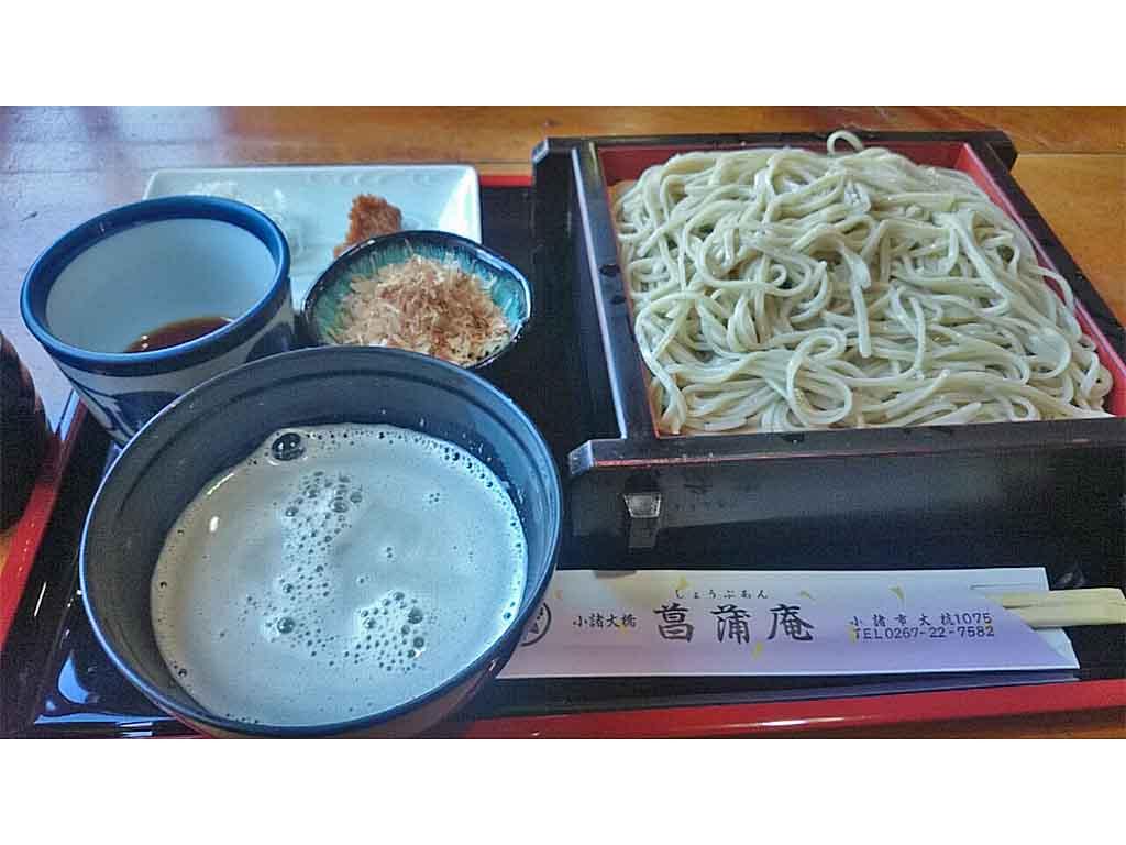 長野_小諸_菖蒲庵_おしぼり蕎麦